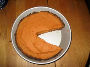 Scrumptious sweet potato pie